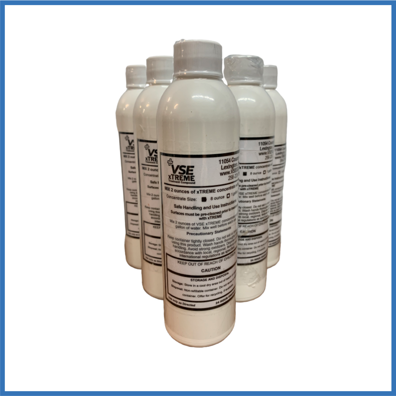 8 oz VSE xTREME Disinfecting Solution